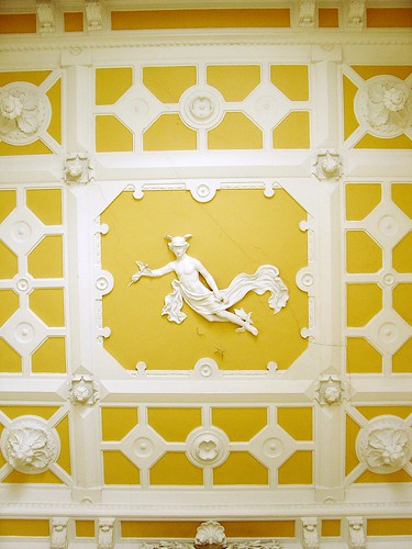 Yellow and white ceiling, 53, D. Pedro V.St. Lisbon, Flickr: F.lopes