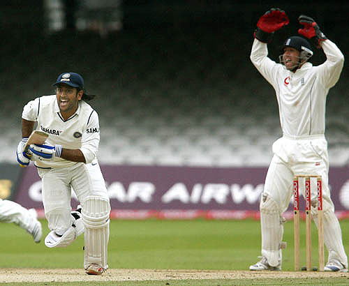 Fortune favours the brave-India vs England 1st test Lords 2007