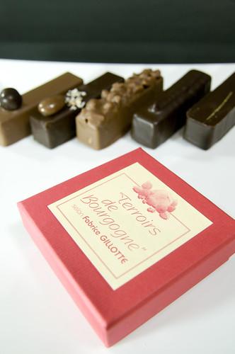 Terroirs de Bourgogne, Fabrice Gillotte, Salon du Chocolat 2009 Tokyo, Shinjuku Isetan