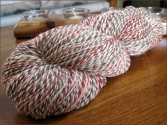 Watermelon Rind yarn