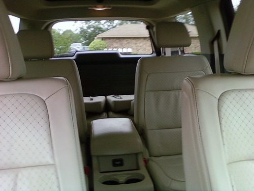 Inside the Ford Flex - Photo by Erica Mueller