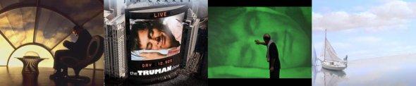 """Imagens do filme """"The Truman Show""""."""