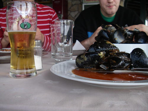 how to smoke mussels