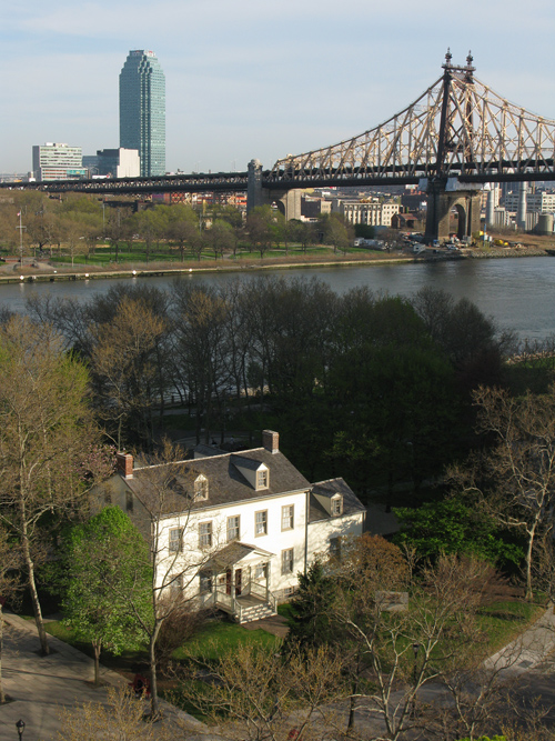 oldest building on Roosevelt Island, NYC