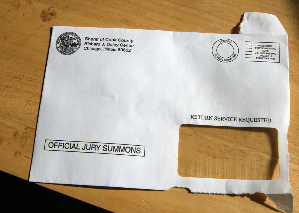 Day 132: Jury Summons