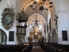 L'intérieur de l'église S:ta Maria