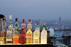 Vertigo Grill & Moon Bar (sentsim) Tags: colors bar thailand bottles bangkok liquor alcohol vertigogrillmoonbar thebanyantreehotel