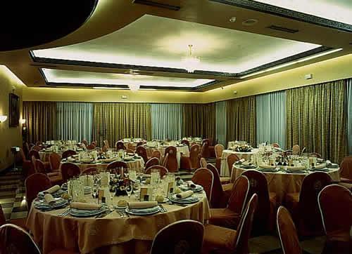 Salón habilitado para un evento