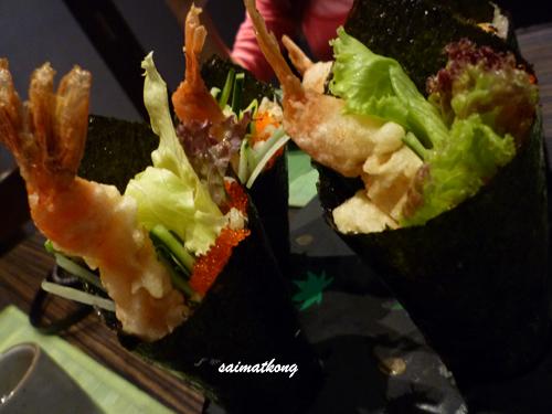 ebi tempura temaki!