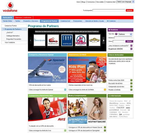Programa de Partners de Vodafone by Vodafone España.