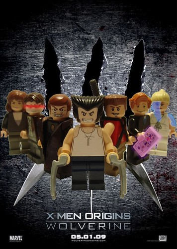 X-Men Origins Wolverine-Lego
