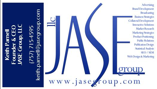 JASE Business Card - KEITH - front
