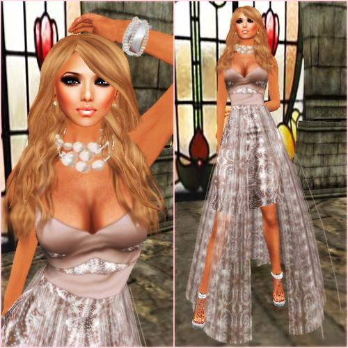 *[ROC]* Delilah Skirt Prim Champagne v2