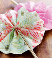 Paper fans (Courtesy Family Fun Magazine)