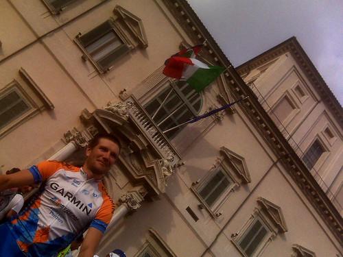 David Zabriskie - Giro d'Italia, stage 21