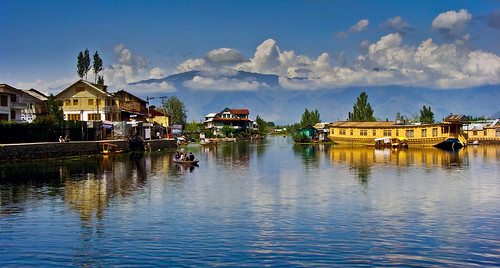 The Dal Lake, Srinagar, Kashmir