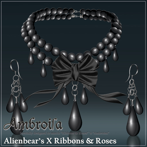 Ambroisa black pearl black