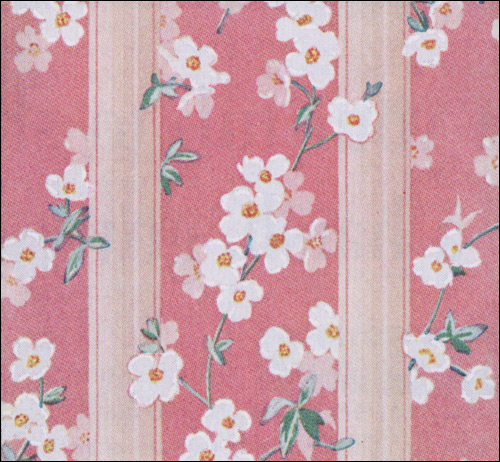 patterns wallpaper. 1941 Dogwood Pattern Wallpaper