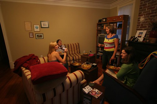 Emily, Shane, Patricia, and Kathy in Charleston...