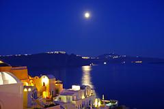 月光下的圣岛 Santorini by Moonlight