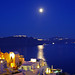 月光下的圣岛 Santorini by Moonlight
