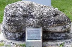 Turkey Foot Rock, Fallen Timbers