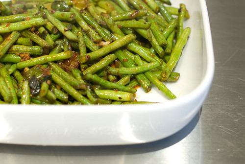 Chinese Dry Fry Long Bean
