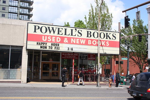 Powell's Books Store in Portland