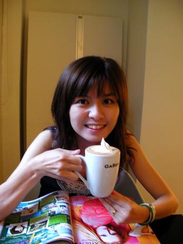 我們選南義咖啡豆,比較苦的(北義是酸的..) by you.