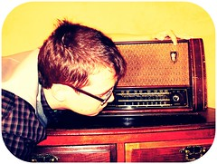 me & my old radio