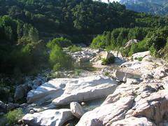 Pont de Marion : U Cavu vers l'amont