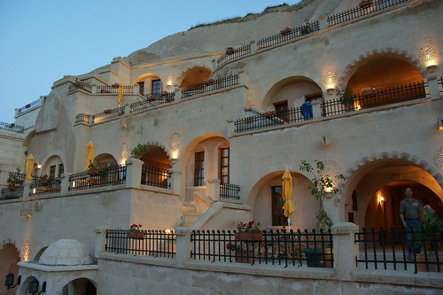 Alfina Cave Hotel at Nevsehir, Turkey
