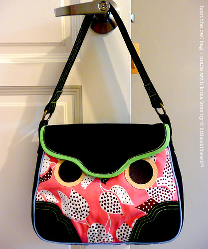 hoot the owl bag