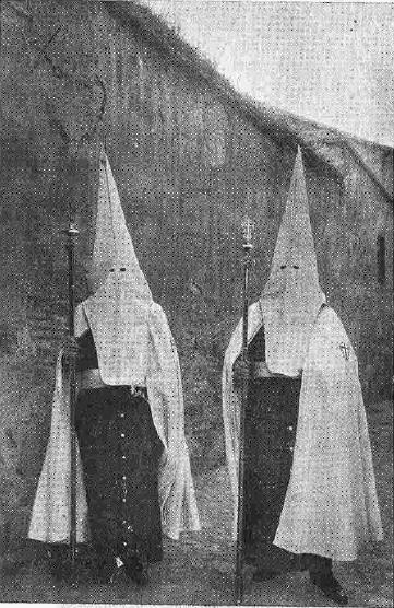 1924. Cofradia del Cristo de las Aguas. Foto Rodriguez