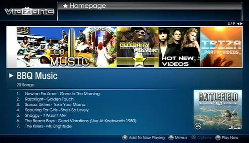 VidZone - BBQ playlist, 02-09 July