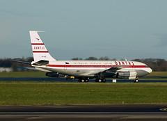 VH-XBA Boeing 707-138B (Irish251) Tags: ireland boeing 707 qantas dub aerotagged eidw vhxba aero:man=boeing vheba aero:model=707 707138b aero:tail=vhxba aero:series=138