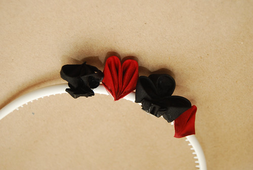 Cards Kanzashi Hairband