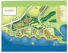 Koolina drawing map by coconut wireless