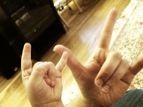[152/365] I Love Rock n Roll by goaliej54
