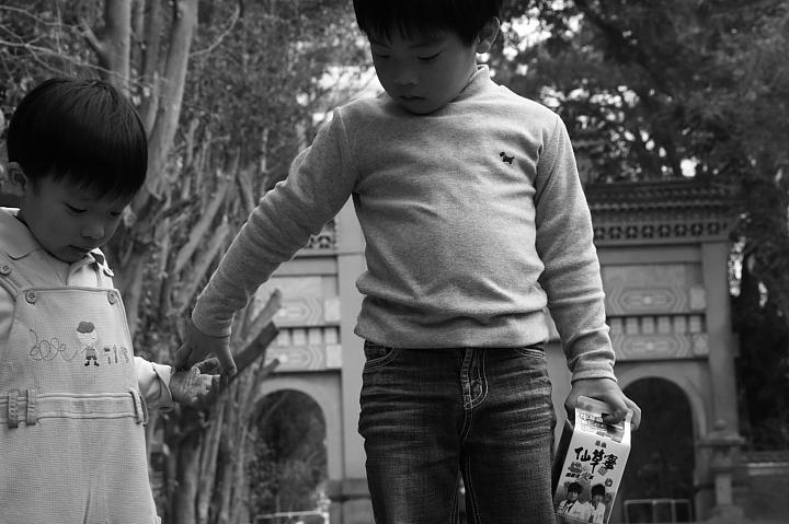 嘉義市史蹟資料館(黑白)03