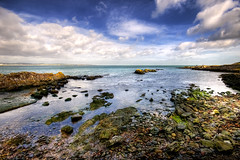 Crawfordsburn Beach (Etrusia UK) Tags: uk sea sky beach water clouds landscapes nikon rocks waves unitedkingdom horizon wideangle pebbles northernireland ni 1020mm hdr wmp pictureperfect ulster d300 codown sigmalens photomatix crawfordsburncountrypark interestingshot 1020mmlens 5xp sigma1020mmlens mywinners colorphotoaward ysplix hdraddicted nikond300 flickrestrellas absolutelystunningscapes nikonflickraward guasdivinas flickrvault trolledproud newgoldenseal
