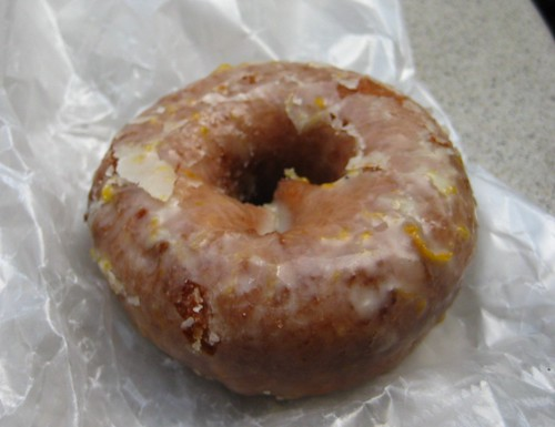 Meyer Lemon Doughnut