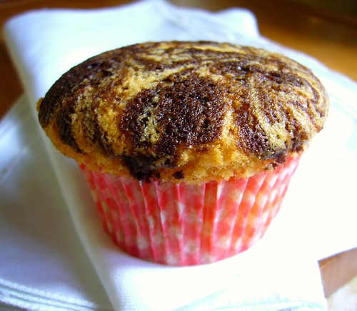 Marble Vanilla Muffin