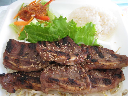 Kalbi / Rice / Salad