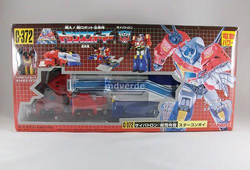 Transformers Star Convoy G1 - caja