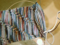 Anastasia sock in progress