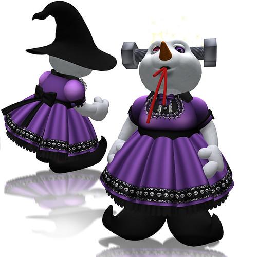 katat0nik purple Dollie Dress for Loco Pocos