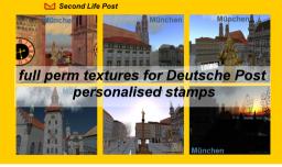 München SL Post Texture Box
