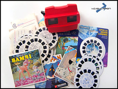 View-Master Collection (Hailey Kitten) Tags: startrek red vintage 3d 60s view space peterpan disney retro master casper batman viewer snowwhite moonlanding dennisthemenace flipper sixties junglebook 1960 reels gaf yogibear 101dalmations nostaligia viewmasterviewer viewmasterreels viewmaste gafviewmaster vintagereels