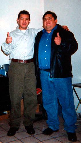 Arturo Miguel  y Gilberto Villagran Lafarga